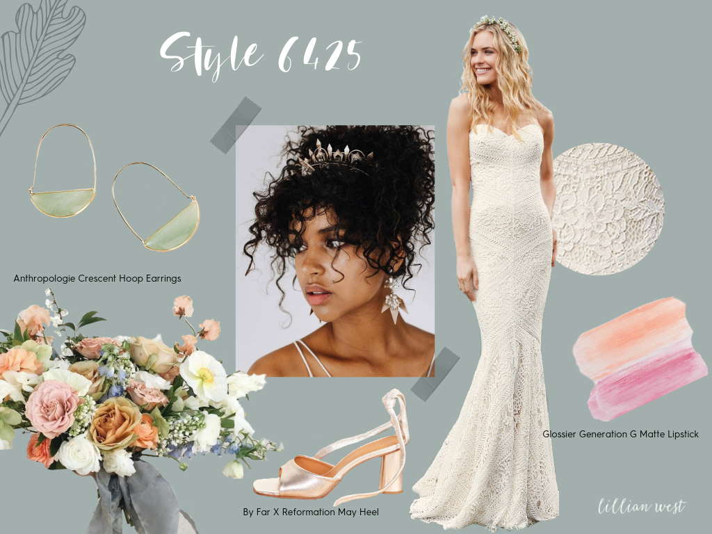 Lillian West Spring Bride Style Guide Style No. 6425