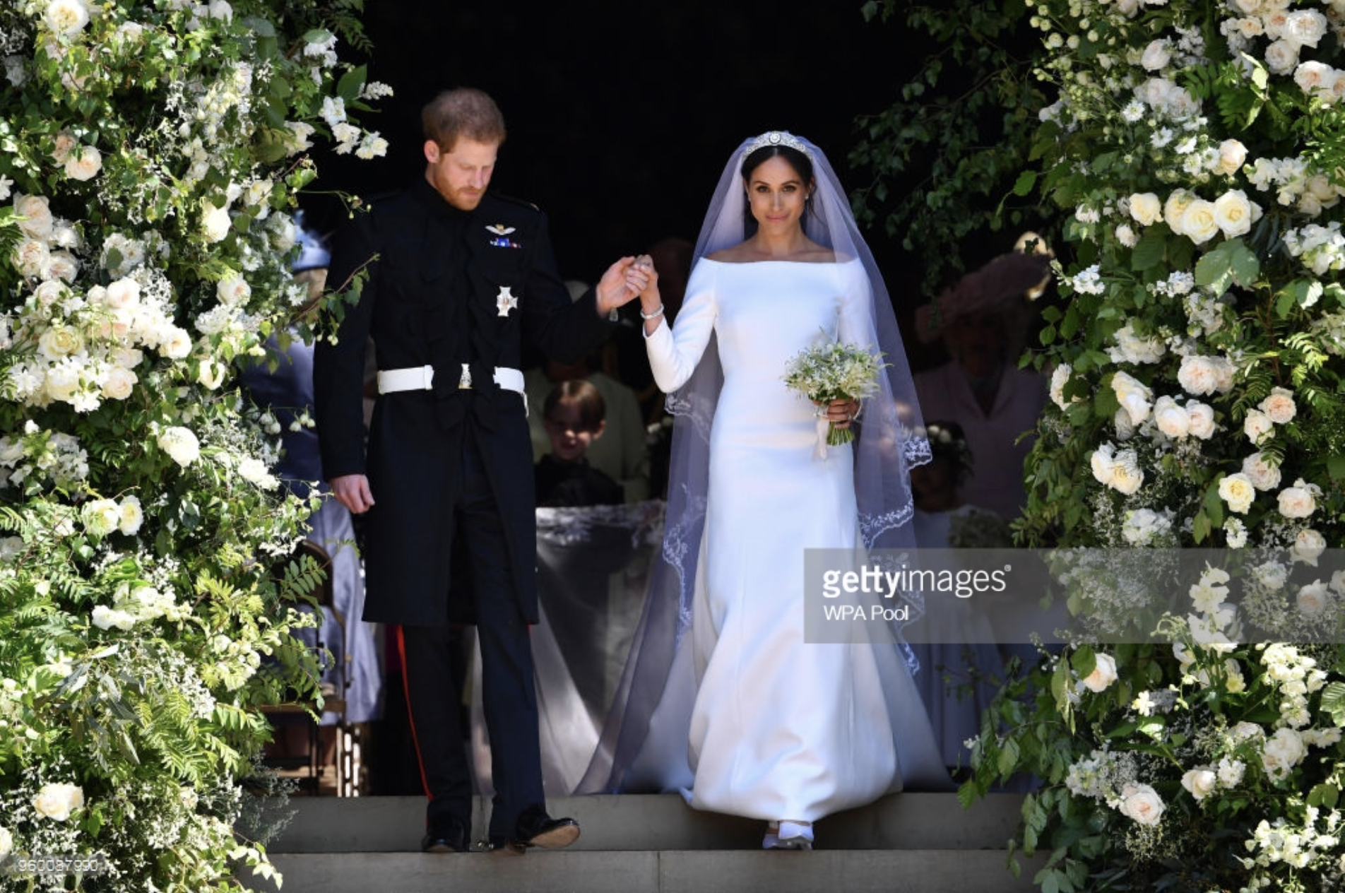 meghan markle s wedding dress unveiled justin alexander meghan markle s wedding dress unveiled
