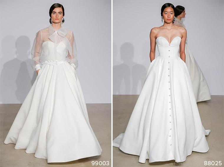 Justin Alexander Fall/Winter 2018 New York Bridal Fashion Week Runway Show