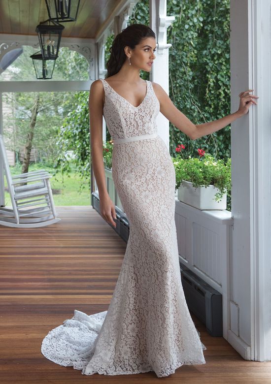 Sweetheart Gowns Style 11091 Allover Lace Fit and Flare Gown