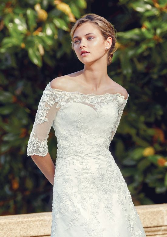 Sincerity style 44127 Beaded Lace Applique A-Line Gown with Jacket