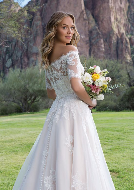 Sweetheart Gowns Style 1147J Corded and Beaded Lace Jacket