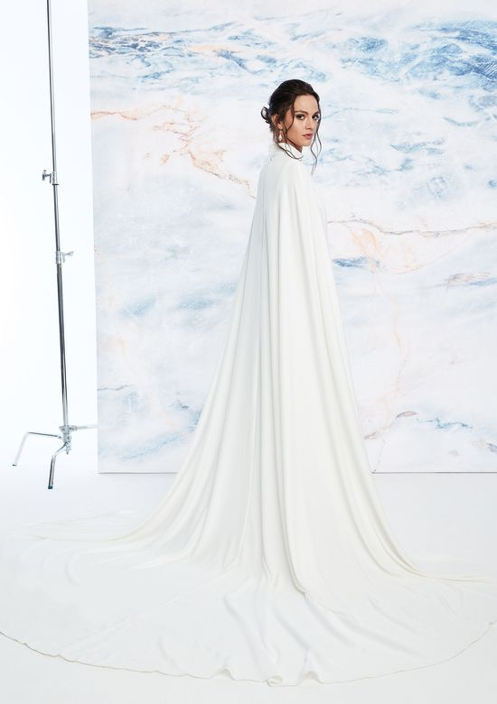 Justin Alexander Signature Style 99052C Flowing Crepe Cape