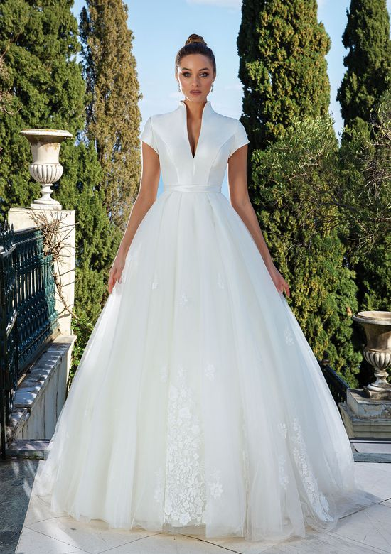 Justin Alexander Style 88132SK Detachable Tulle and Lace Ball Gown Skirt