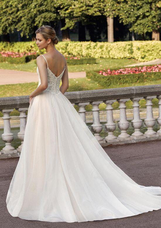 Sincerity Bridal Style 44139 Bikini Neckline Beaded Venice A-Line Dress