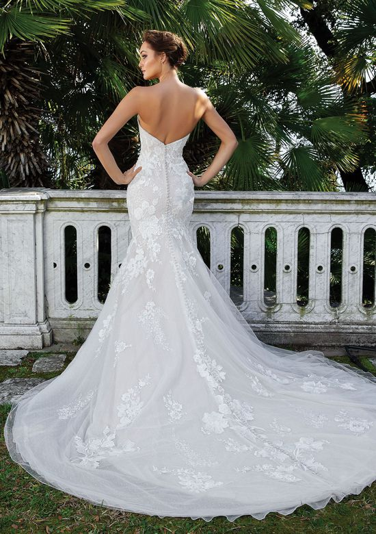 Justin Alexander Style 88123 Sweetheart Neckline Fit and Flare Gown