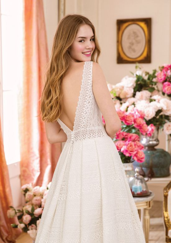 Sweetheart style 11045 Allover Venice Lace A-line Gown
