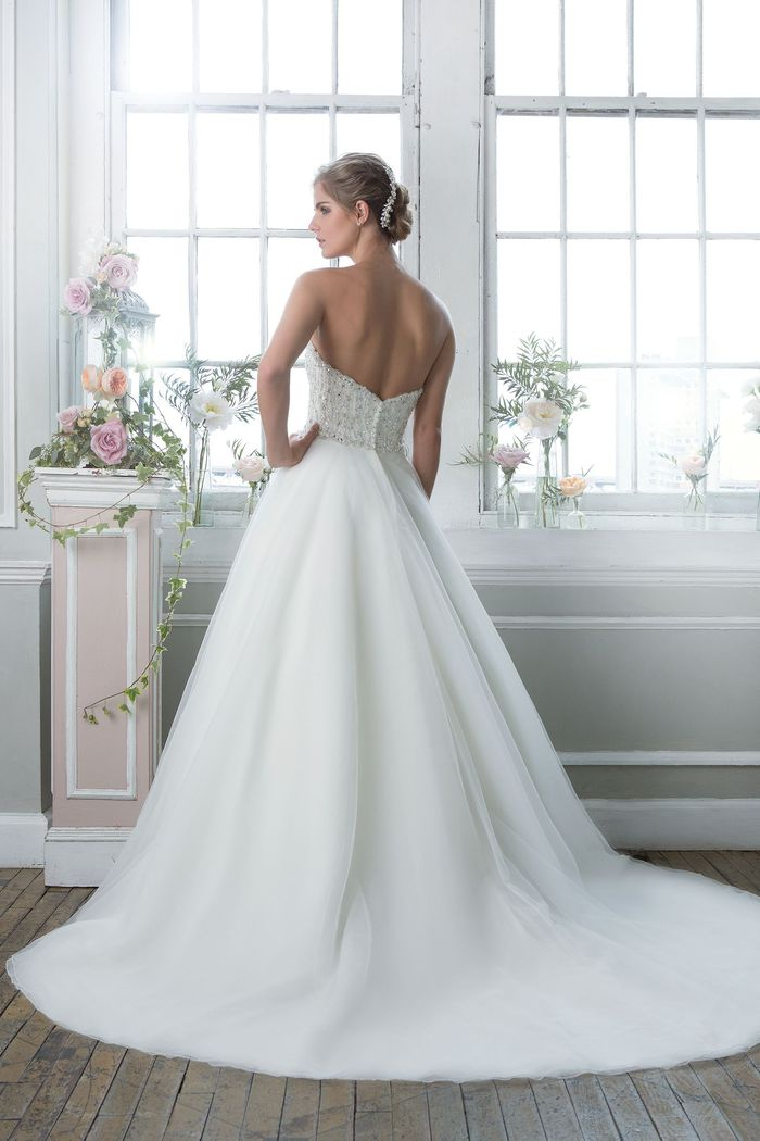Lillian West Style 6381 Beaded Sweetheart Ball Gown