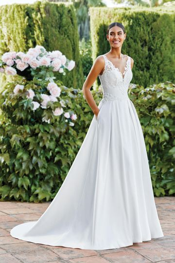 Pockets Wedding Dresses Sincerity Bridal