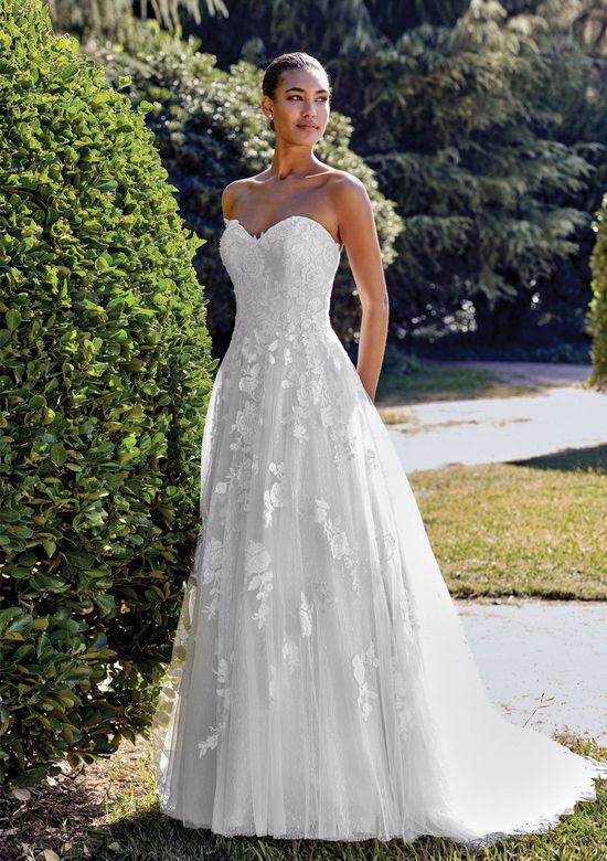 Sincerity Bridal Style 44135D Sequined Embroidered Lace Ball Gown