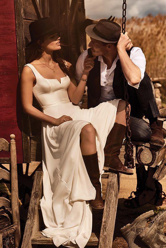 Boho Wedding Dresses Lillian West