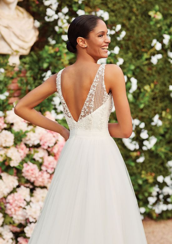 Sincerity Bridal Style 44166 Beaded Bodice Tulle Skirt Ball Gown
