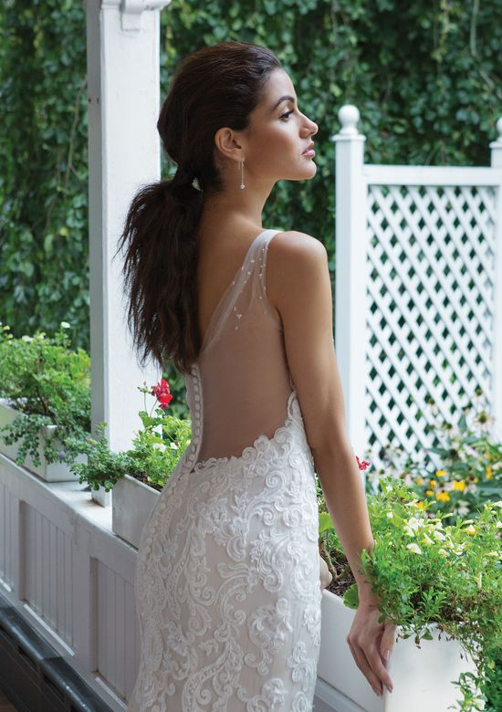 Sweetheart Gowns Style 11083 V-Neck Venice Lace and Tulle Gown