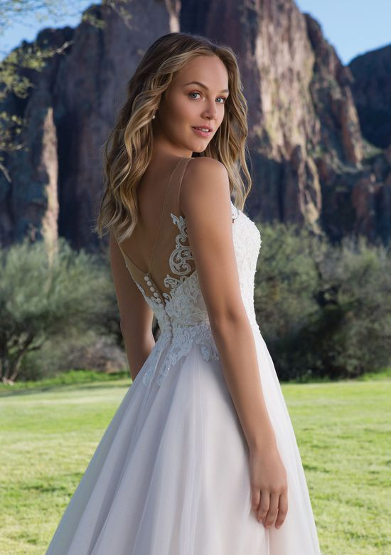 Sweetheart Gowns Style 1150 Tulle A-line Gown with Scoop Lace Neckline