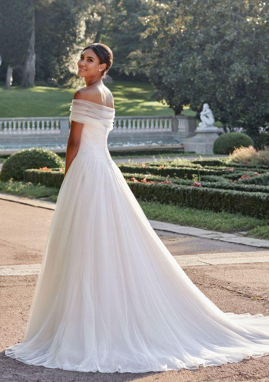 Sincerity Bridal Style 44134C Gathered Tulle Shawl