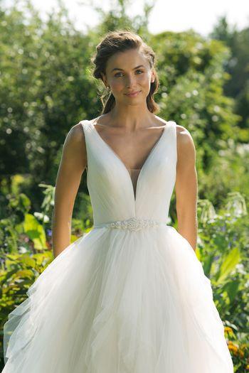 Sweetheart Gowns Style 11021B Beaded Self-Tie Ribbon Belt