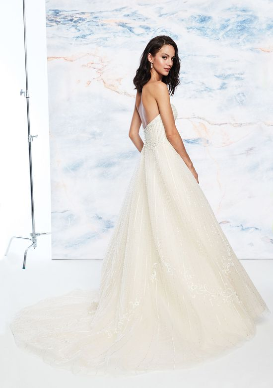 Justin Alexander Signature Style 99066 Sweetheart Gowns Style  Ball Gown with Floral Beaded Embroidery