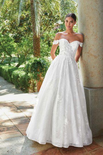 Off The Shoulder Wedding Dresses Sincerity Bridal