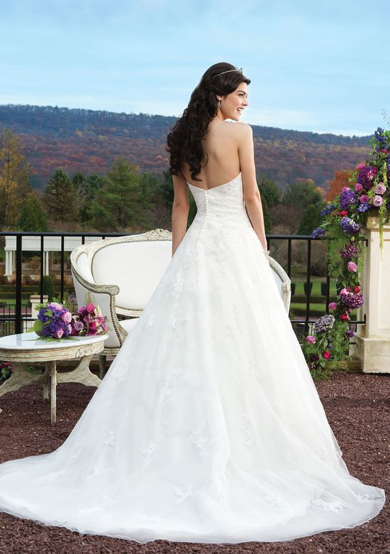 Sincerity Bridal Sweetheart A-Line Dress with Basque Waist