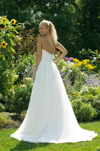 Sweetheart Gowns style 11005 Sweetheart Ball Gown with CleanMikado Bodice