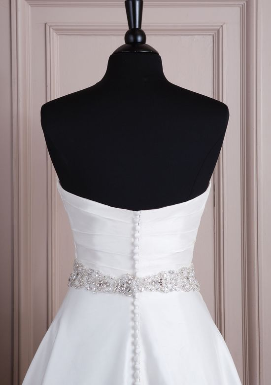Style A066 All Over Beaded Belt with Crystal Embellishments