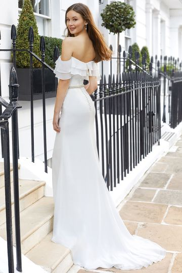 Adore by Justin Alexander Style 11117B Crystal Beaded Belt