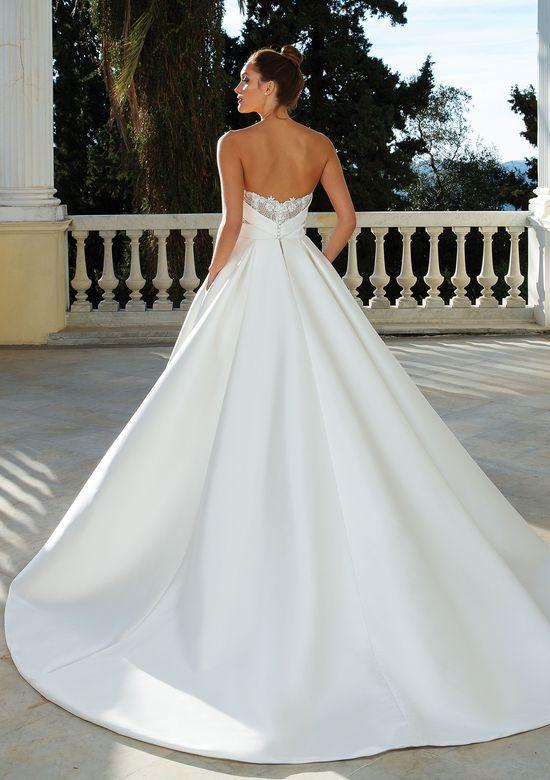 Justin Alexander Style 88110 Sweetheart Neckline Mikado Ball Gown