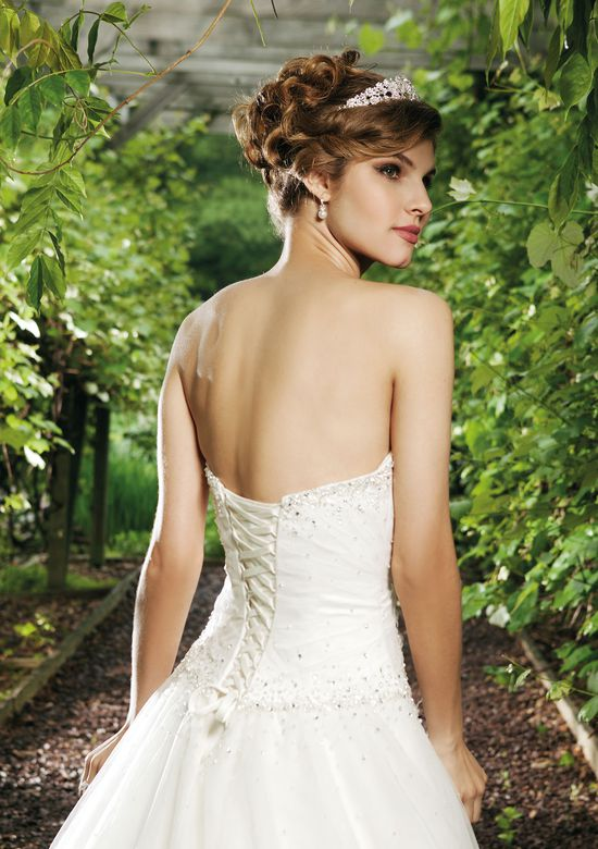 Sincerity Bridal Tulle Ball Gown with Scatter Beaded Bodice