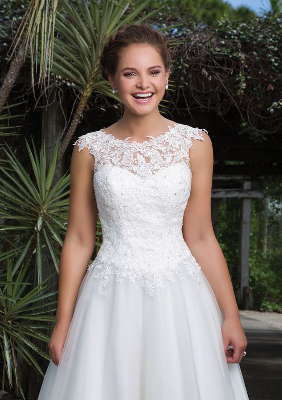 Sweetheart Gowns Style 6127 Lace, Tulle Ball Gown Accentuated by a Sabrina Neckline