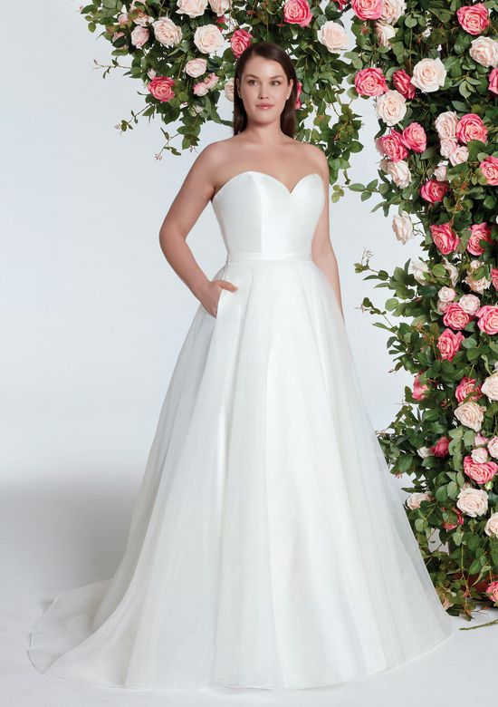 Sweetheart Gowns Style 11005 Sweetheart Ball Gown with Clean Mikado Bodice