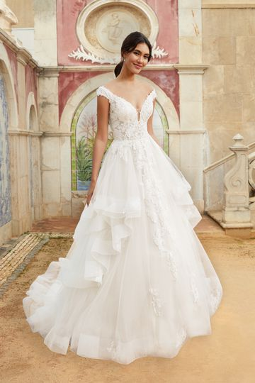 Ruffles and Tiers Bridal Gowns | Sincerity Bridal