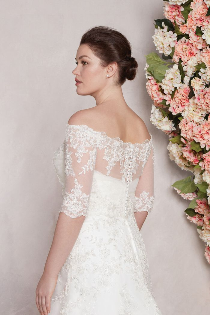 Sincerity Bridal Style 44127J Elbow Length Beaded Jacket