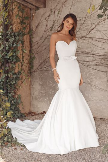 Satin Wedding Dresses Justin Alexander