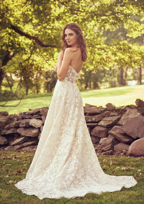Lillian West Style 66067 Sweetheart Gowns Style  Gowns Style ns Style ns Style n with Cotton Lace Illusion Bodice