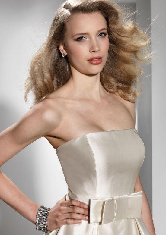 Justin Alexander Signature Style 9688 Strapless silk dupion ball gown