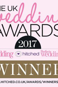 UK Wedding Awards 2017 Winner