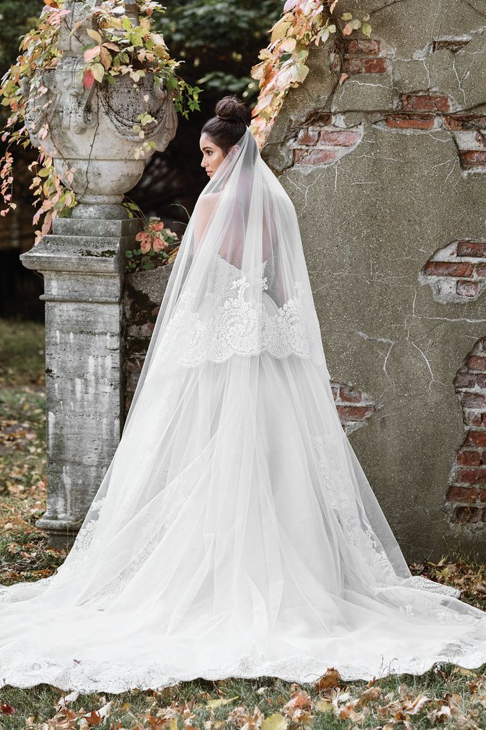 Justin Alexander Signature Sweetheart Ball Gown with Layered Organza Skirt