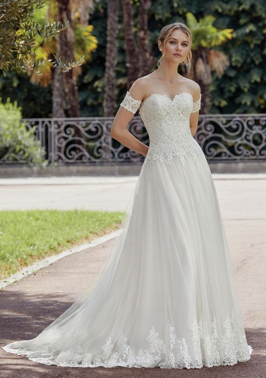 Sincerity Bridal Style 44137 Sweetheart Gowns Style  Lace Bodice with Tulle A-Line Skirt