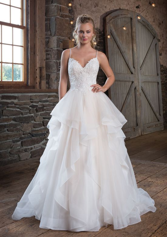 Sweetheart Gowns Style 1123 Organza Ruffle Ball Gown
