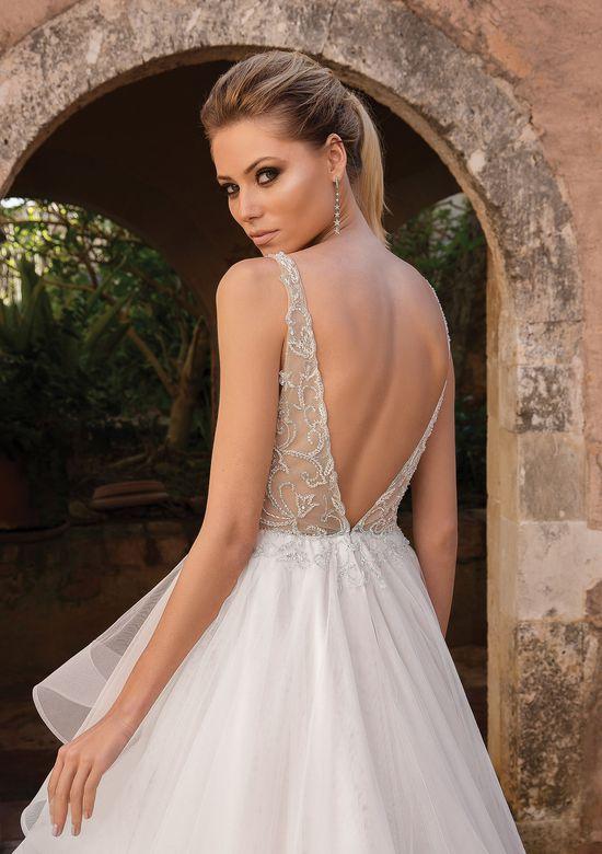 Justin Alexander Style 88059 Romantic Ruffle Skirt Ball Gown