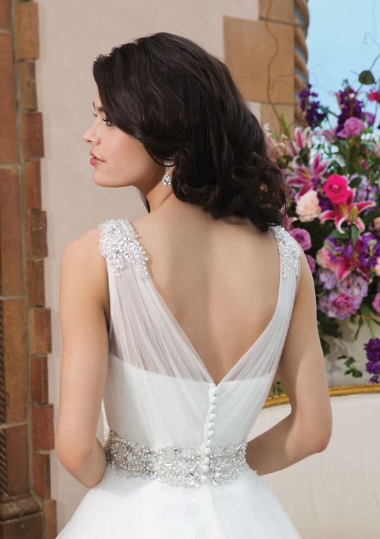 Sincerity Bridal Style 3843 Shoulder Beaded Embellishment Ball Gown