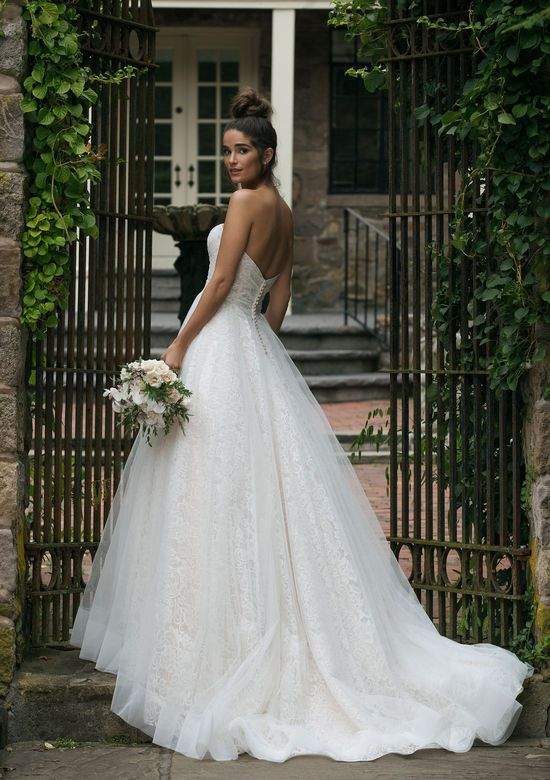 Sincerity style 44055 Allover Lace Ball Gown with Tulle Overlay