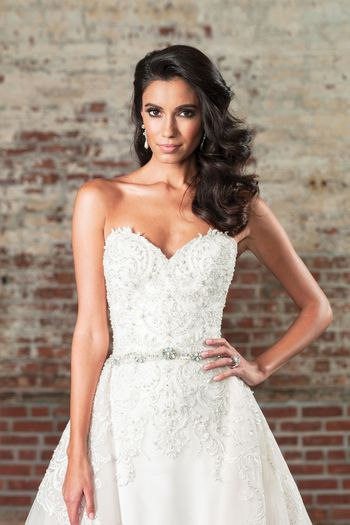 Justin Alexander Signature Style 9862B Thin Beaded Belt