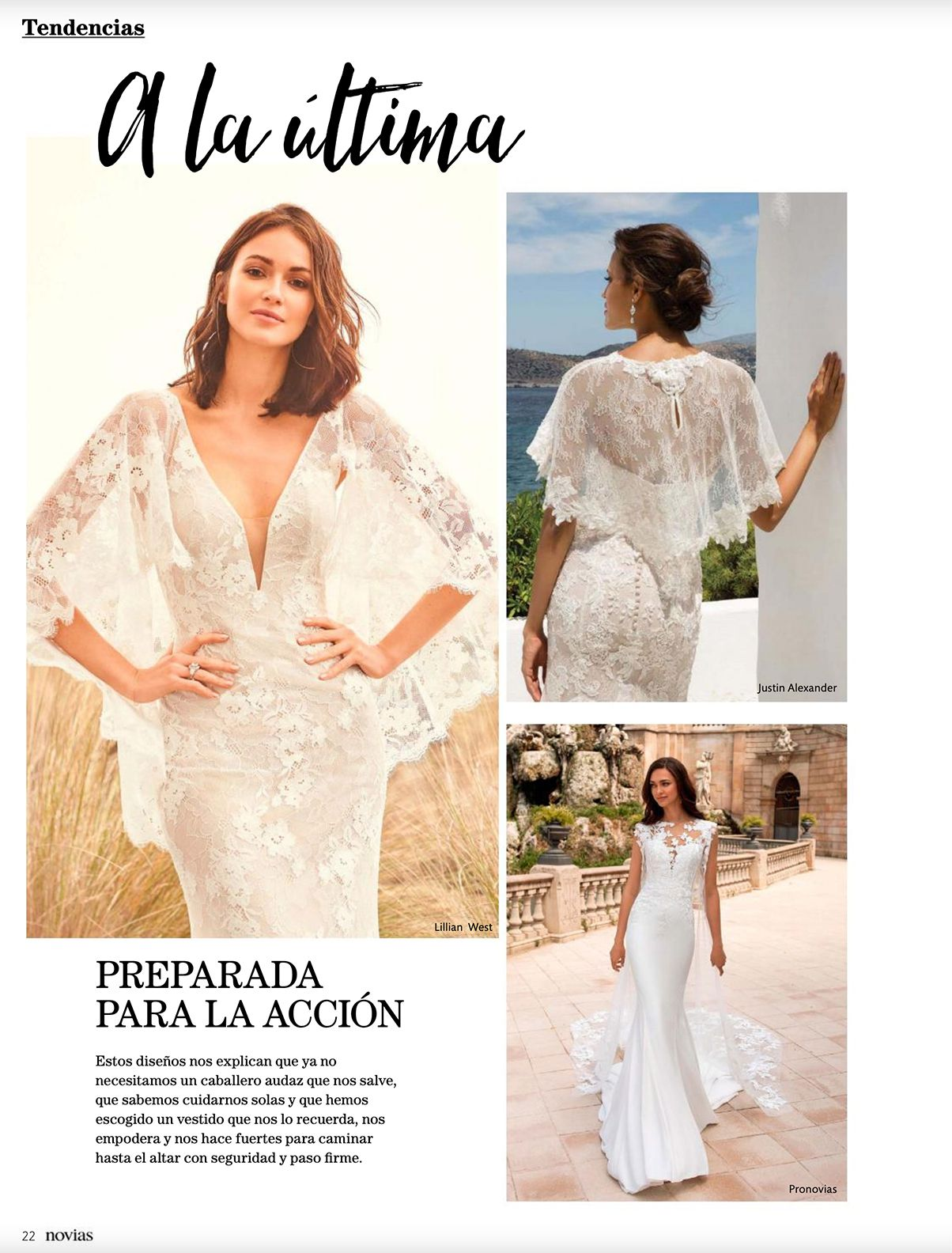 Justin Alexander Style 8920 and Lillian West Style 66112 from Novias Mexico
