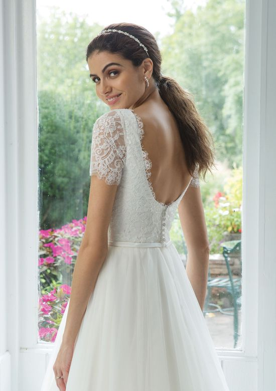 Sweetheart Gowns Style 11072 Sequined Lace Bodice with Tulle Ball Gown Skirt