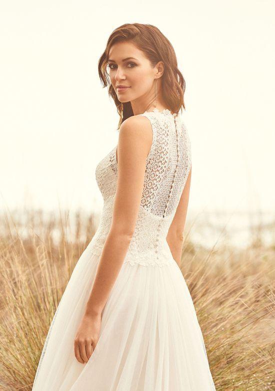 Lillian West Style 66101 Lace Bodice Gathered English Net Dress
