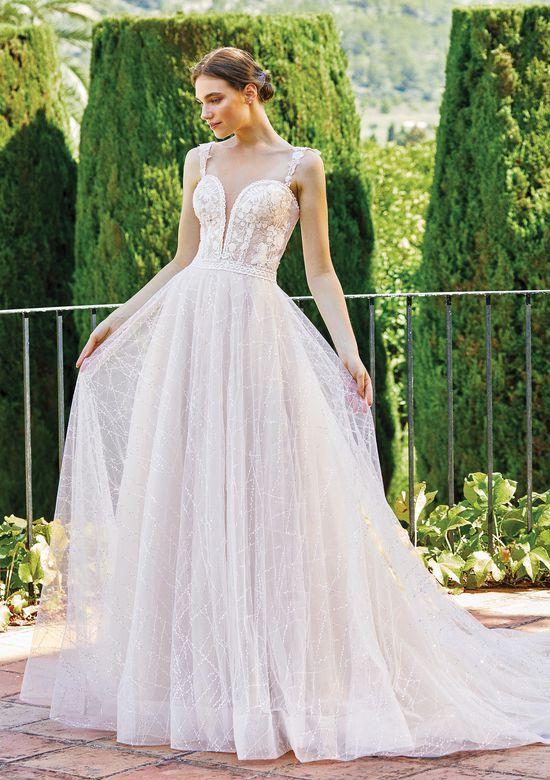 Sincerity Bridal Style 44217SL Detachable Straps with Sequin Lace