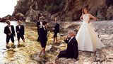Justin Alexander Style 88001 | Silk Dupion Ball Gown with Illusion Jewel Neckline