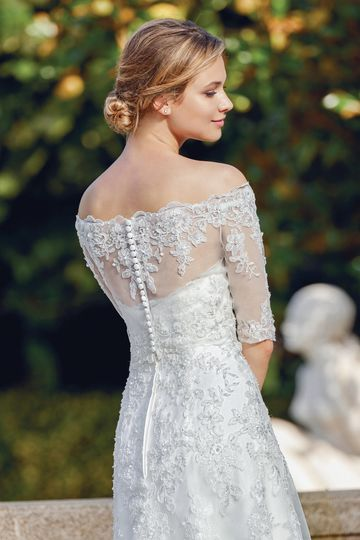 Sincerity Bridal Style 44127J Elbow Length Beaded Jacket