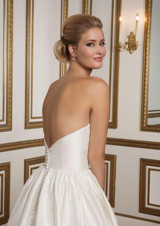 Justin Alexander Style 8825 Silk Dupion Sweetheart Bodice Ball Gown